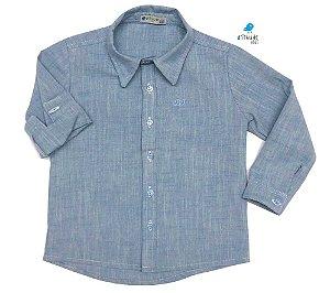 Camisa Cauã - Azul   | Linho