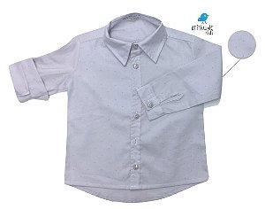 Camisa Fabricio - Cinza Poá