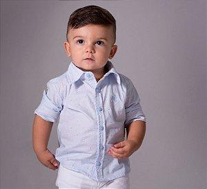 Kit Camisa Rodrigo - Tal mãe, tal filho (a) (duas peças) | Poá Azul