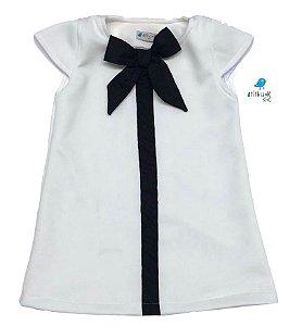 Vestido Nina -  |Off White e Preto