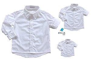 Kit camisa Thor - Família (três peças) | Poá branca