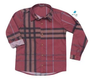 Camisa Rafael - Xadrez Vermelha