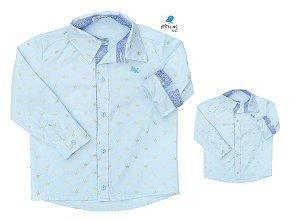 Kit camisa Evair - Tal pai, tal filho (duas peças) | Pequeno Príncipe | Coroas