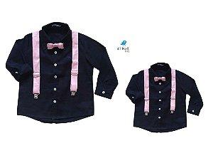Kit camisa Fábio - Tal pai, tal filho (seis peças) | Bita