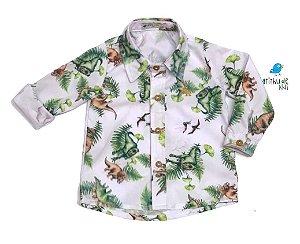 Camisa Beto - estampa Dinossauros | Dino