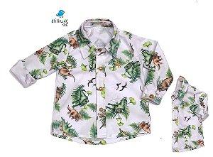 Kit camisa Beto - Tal pai, tal filho (duas peças) | Dino