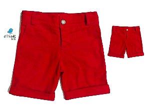 Kit Bermuda Pablo - Pai e filho  | Vermelha Sarja
