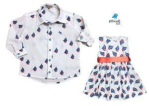 Conjunto Theo e Thai  - Vestido e Camisa | Barco