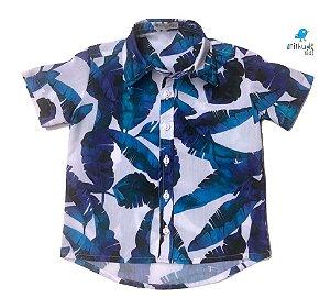 Camisa Noah - Estampa Safari | Praia     | Viscolinho