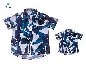 Kit camisa Noah - Tal pai, tal filho (duas peças) | Praia  | Viscolinho