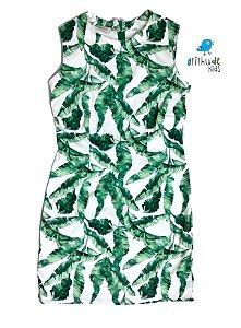 Vestido Duda - Verde| Adulto | Folhas