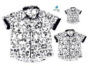 Kit camisa Mickey  -  Família (três peças) | Manga Curta