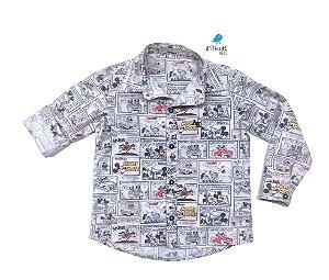 Camisa Mickey - Of white