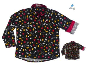 Kit Camisa Mickey - Tal mãe, tal filho  (duas peças) | Mickey