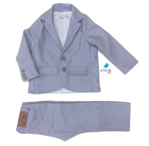 Conjunto Vittorio  | Azul Petróleo | Blazer e calça