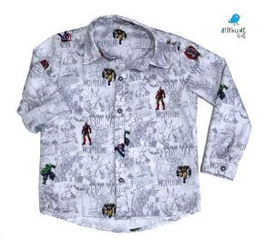 Camisa Nicky - Vingadores | Avengers