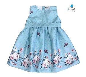 Vestido Liz - Flores Jardim