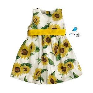 Vestido Linda | Estampa Girassol