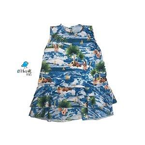 Vestido Maria | Estampa Praia Max
