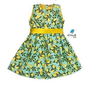 Vestido Beatrice - Estampado Limão