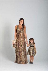 Vestido Babi | Longo Animal Print