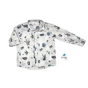 Camisa  Kauã | Fundo do Mar (1 peça)