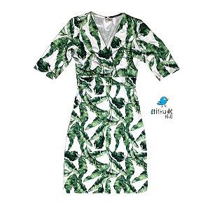 Vestido Lucrécia | Folhas Dado