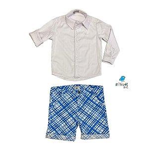Conjunto Marcus | Camisa e Bermuda ( 2 Peças)