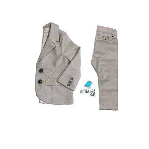 Conjunto Be - Calça alfaiataria e Blazer | Duas Peças - Batizado | Pajem