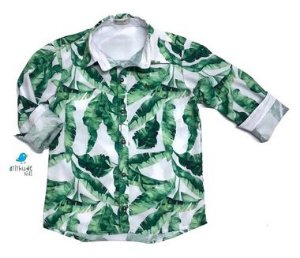 Camisa Dado - Folhas | Pronta entrega - INFANTIL