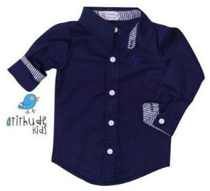 Camisa Nicolas - infantil | Pronta entrega