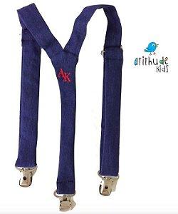 Suspensório Jeans