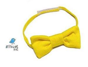 Gravata Borboleta - Amarela
