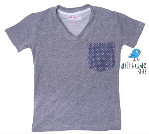 Camiseta Adriano - Cinza