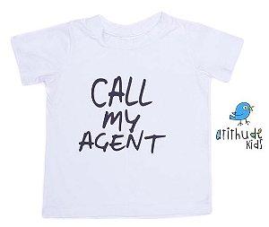 Camiseta Call My Agent - Branca