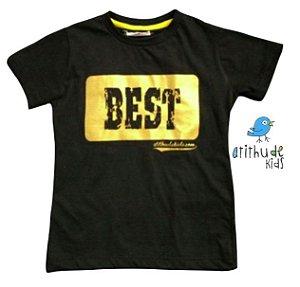Camiseta Best - Preta