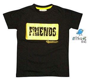 Camiseta Friends - Preta