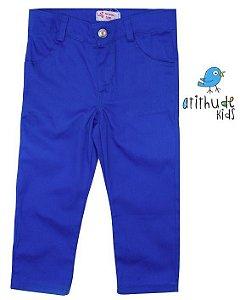 Calça Sarja - Azul Royal