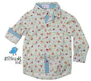 Camisa Cléo - Floral