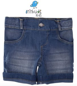 Bermuda Marcelo - Jeans escuro