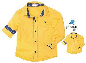 Kit camisa Bernardo - Tal pai, tal filho (duas peças)