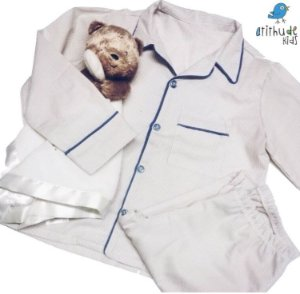 Pijama Noah  - Listrado Bege