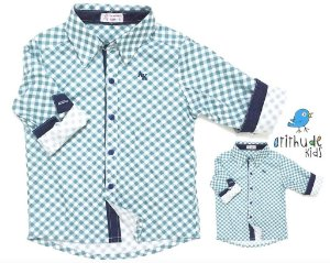 Kit camisa Luigi - Tal pai, tal filho (duas peças)