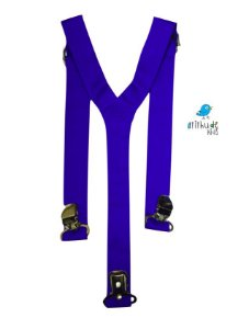Suspensório Azul Royal
