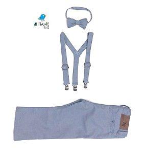 Conjunto Vittorio - Azul Petróleo | Alfaiataria