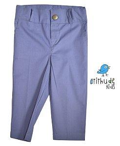 Calça João Lucas - Azul Petróleo (alfaiataria)