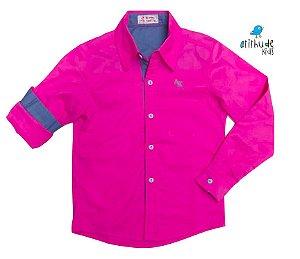 Camisa Biel - Rosa Pink