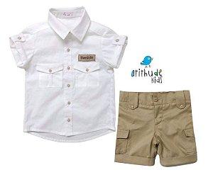 Conjunto Sandro - Safari (camisa e bermuda)