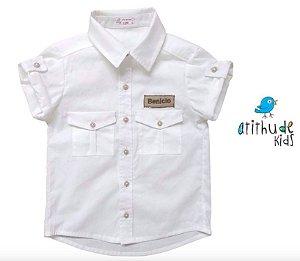 Camisa Sandro (Safari) - Branca