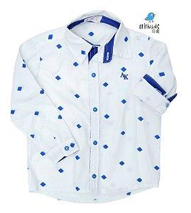 Camisa Nathan - Estampada Losângulos